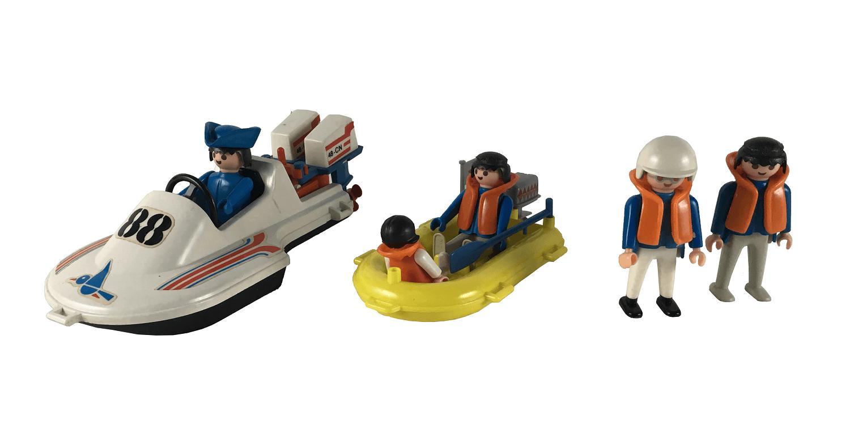 Lote Playmobil Antigo Aquático