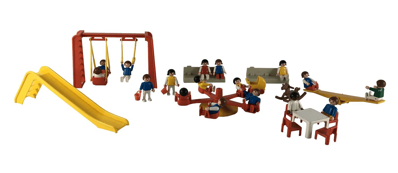 Lote Playmobil Parque Antigo