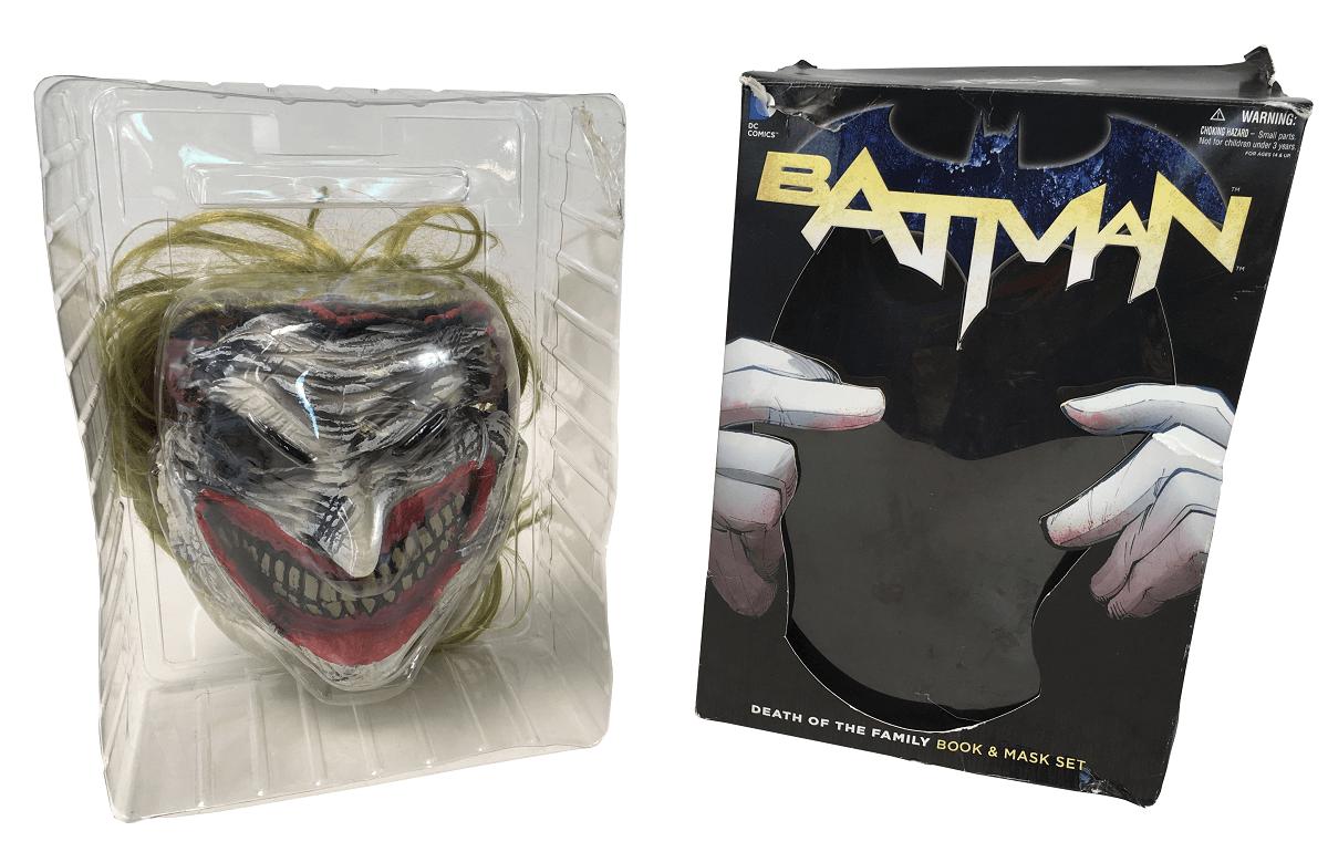 Mascara Coringa Batman Dc Comics Usada
