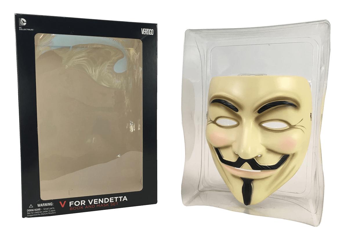 Mascara V de Vingança Dc Comics