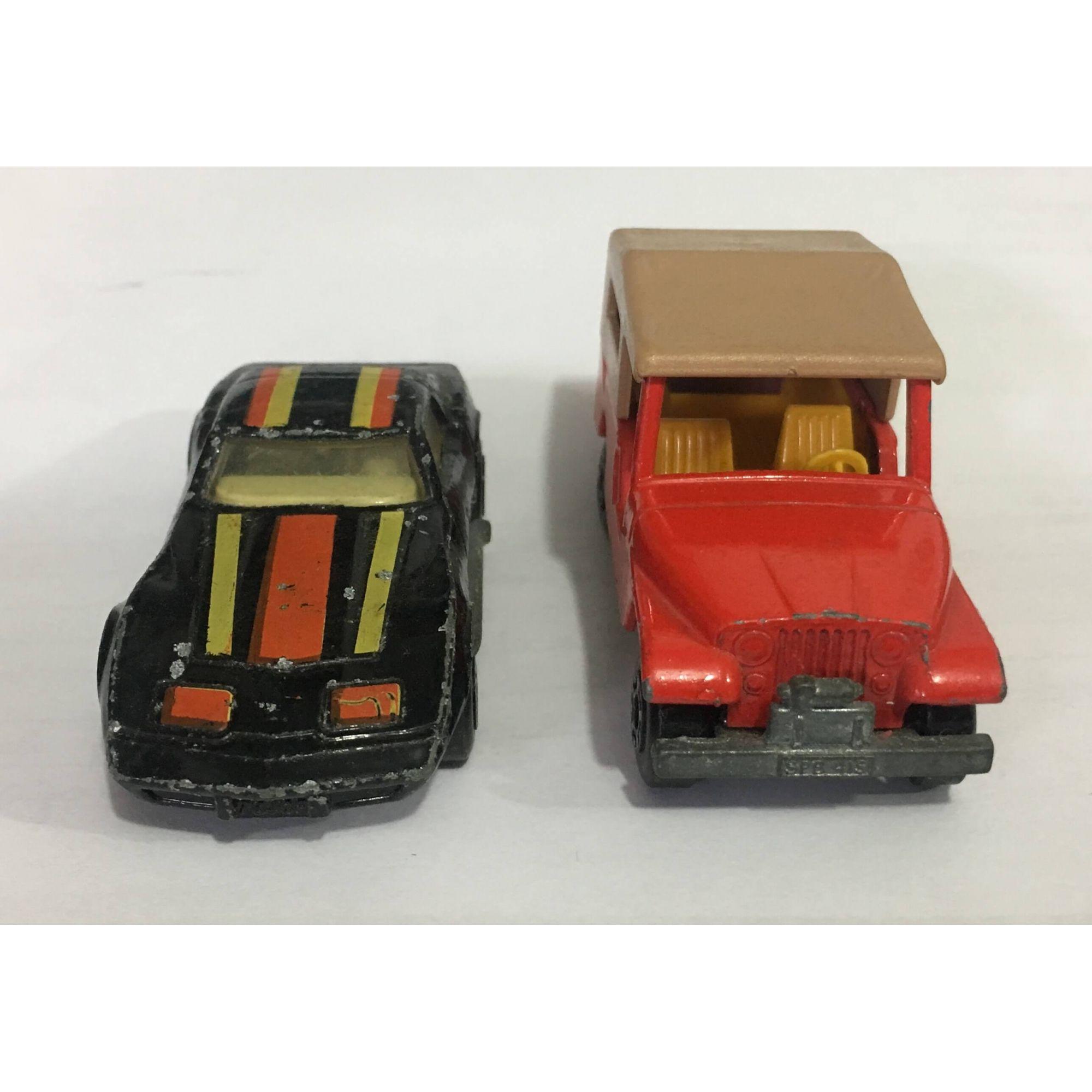Matchbox Jeep Cj6 Chevrolet Corvette C35
