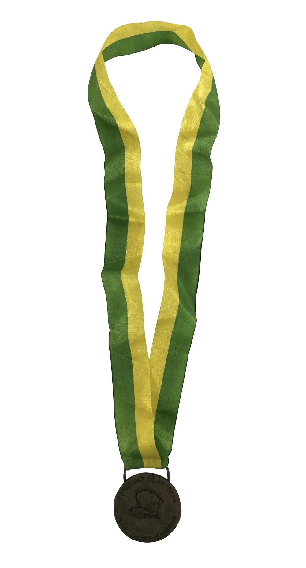 Medalha Antiga Conselho De Minerva