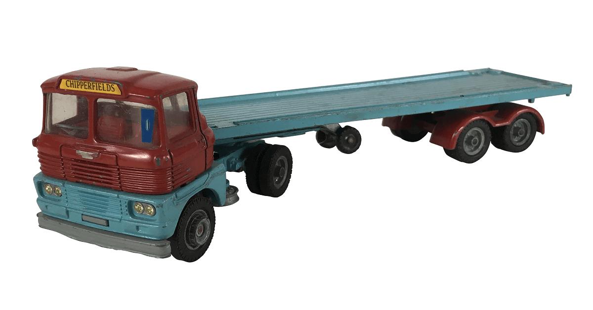 Miniatura Corgi Major Toys Caminhao Articulado Chipperfields