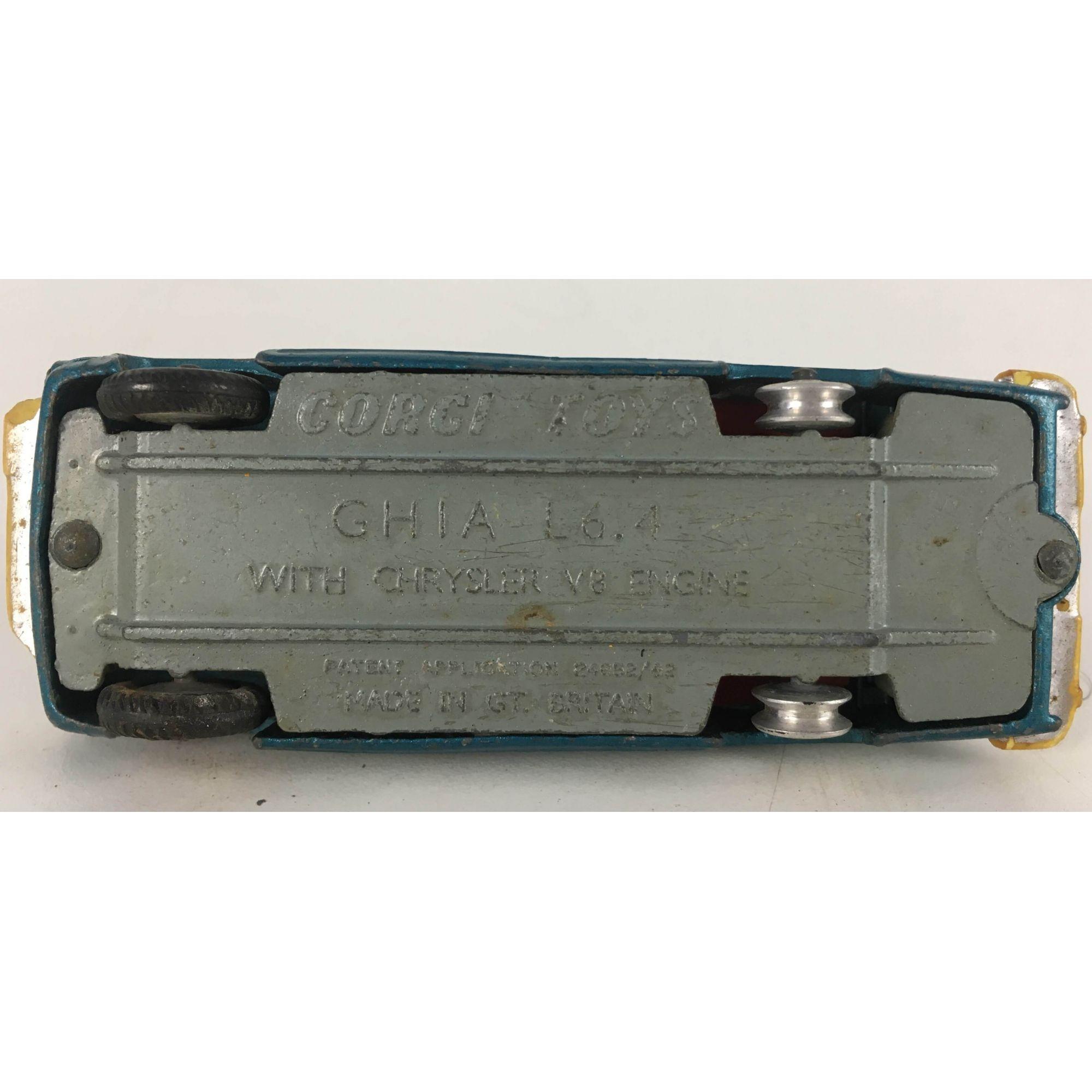 Miniatura Corgi Toys Ghia Crhysler V8