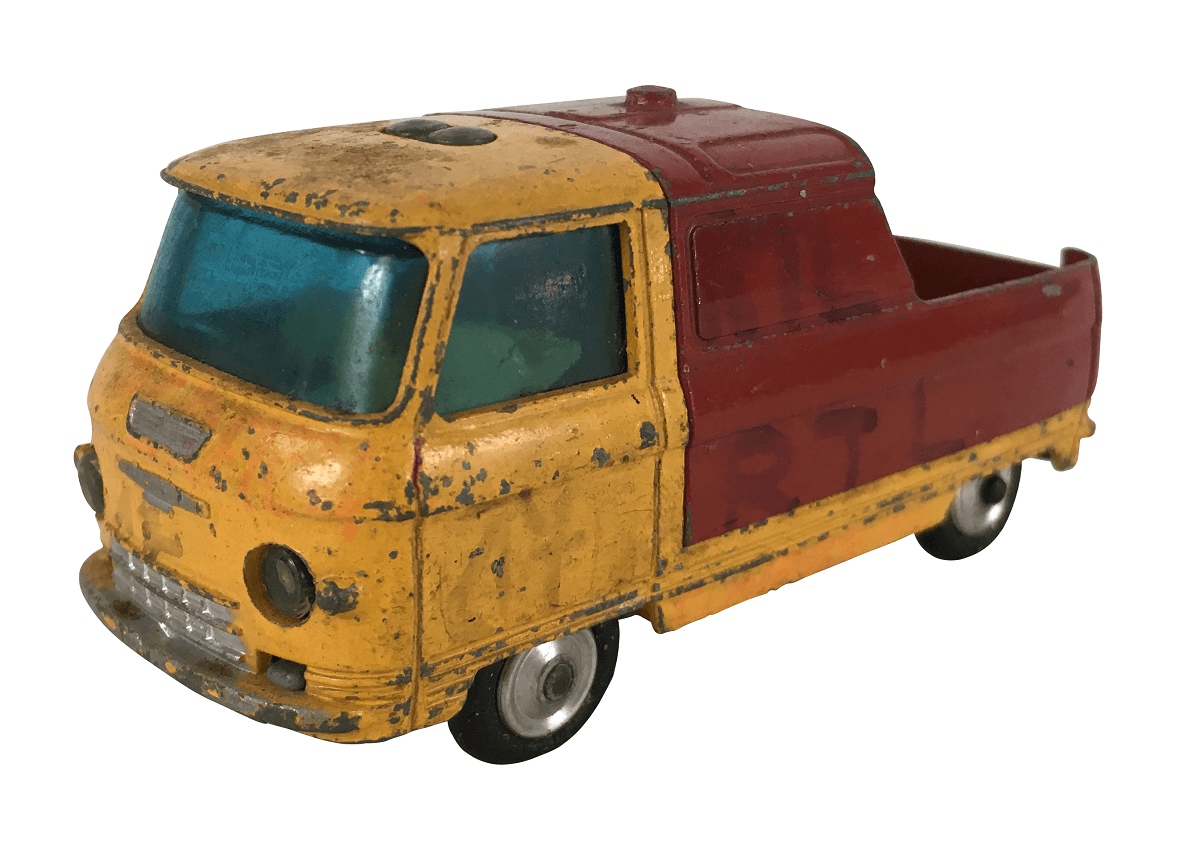 Miniatura Corgi Toys Kombi Commer 3/4 Ton Chassis