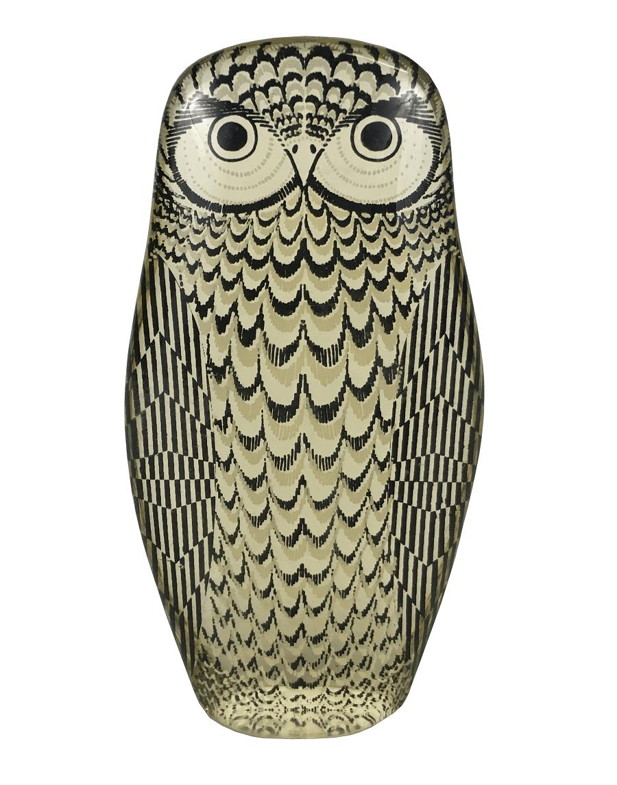 Palatnik Escultura Coruja Acrilico Perfeita