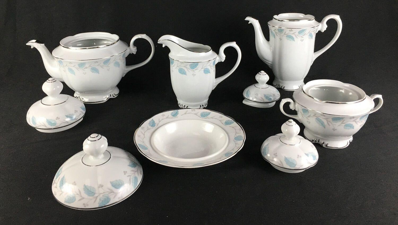 Peças Aparelho De Cha E Cafe Porcelana Antiga Real