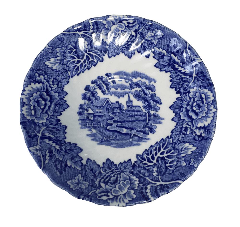 Pires Azul De Cafe Fazendinha Porcelana Inglesa