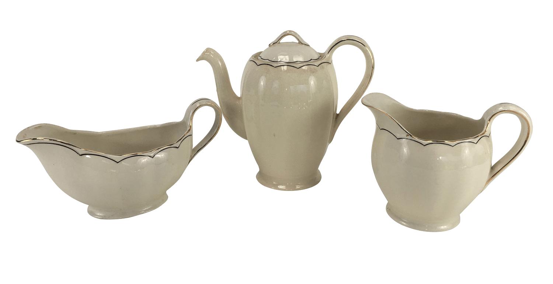 Porcelana Antiga Grindley Peças Aparelho Jantar