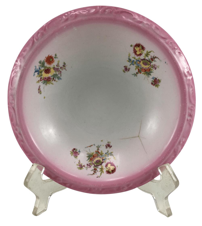 Pratinho Fundo De Gomil Antigo Porcelana Inglesa Villeroy & Boch