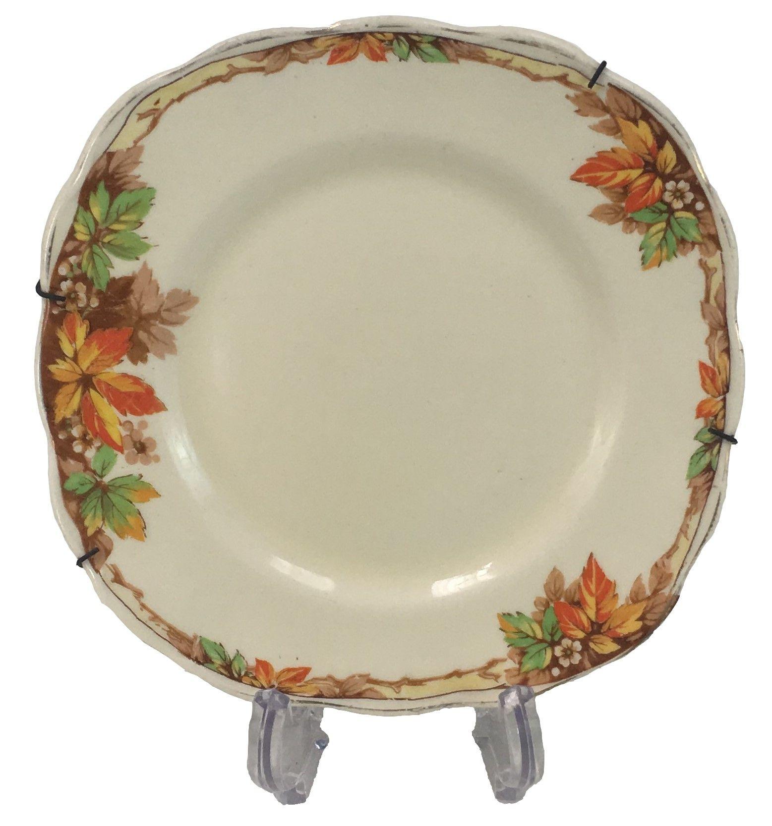 Prato De Sobremesa Antigo Em Porcelana Inglesa Grindley 15cm