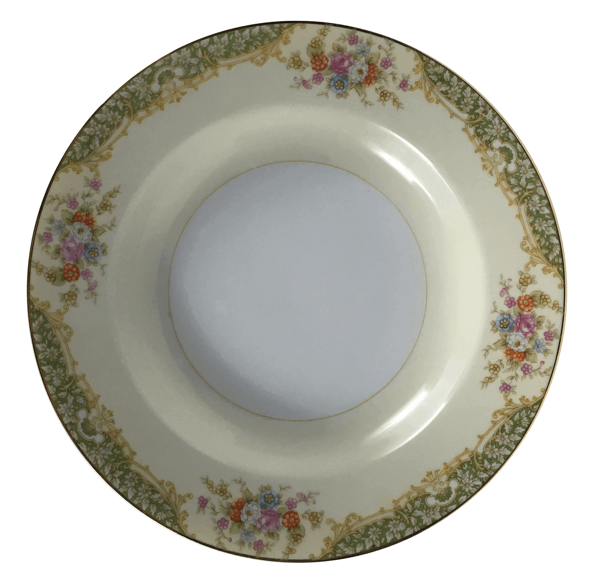 Prato Fundo Antigo Porcelana Noritake