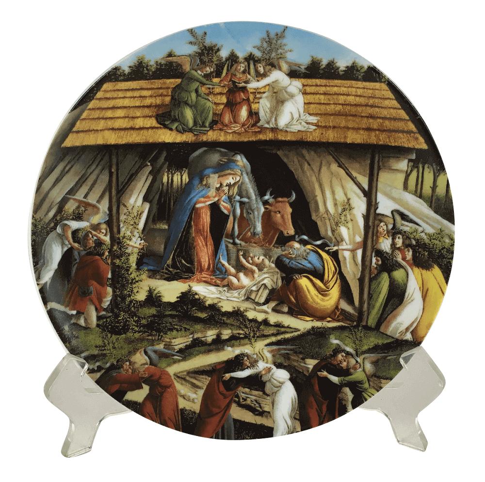 Prato Porcelana Vista Alegre Coleçao Festa De Natal Nº 34