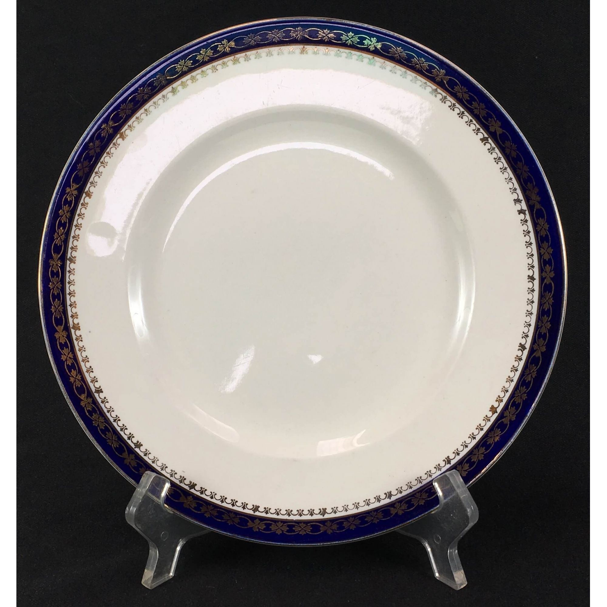 Prato Raso Antigo Em Porcelana Inglesa Alfred Meakin