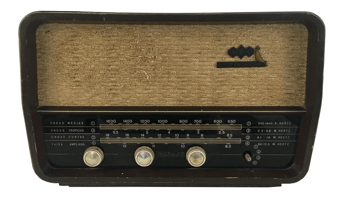 Radio Antigo Valvulado Transbrasil ABC