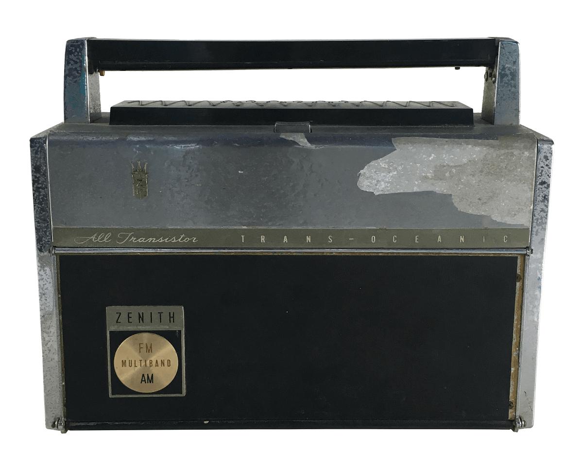 Radio Antigo Zenith Transitor