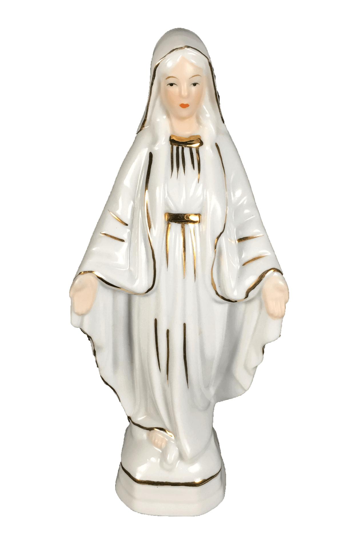 Santa Antiga Porcelana Mati Fiero Espanha