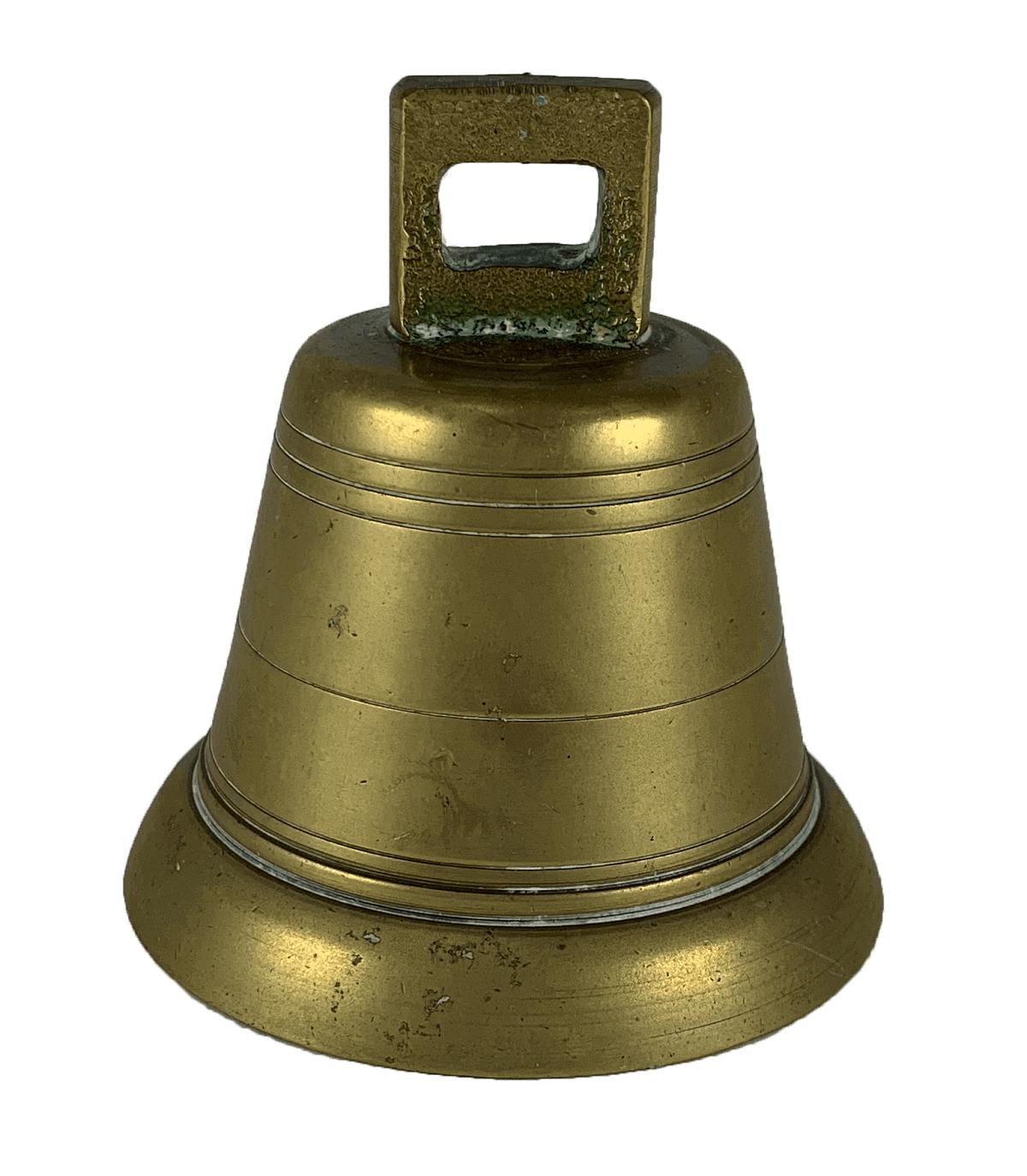 Sino Antigo De Bronze Pequeno