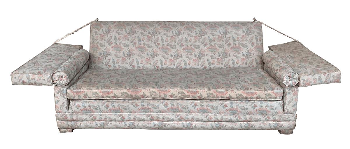 Sofa Antigo Florido Belo Design