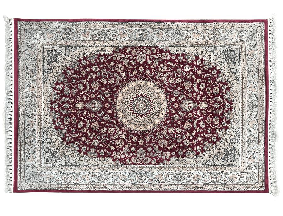 Tapete Persa Antigo Kashan 293x199cm