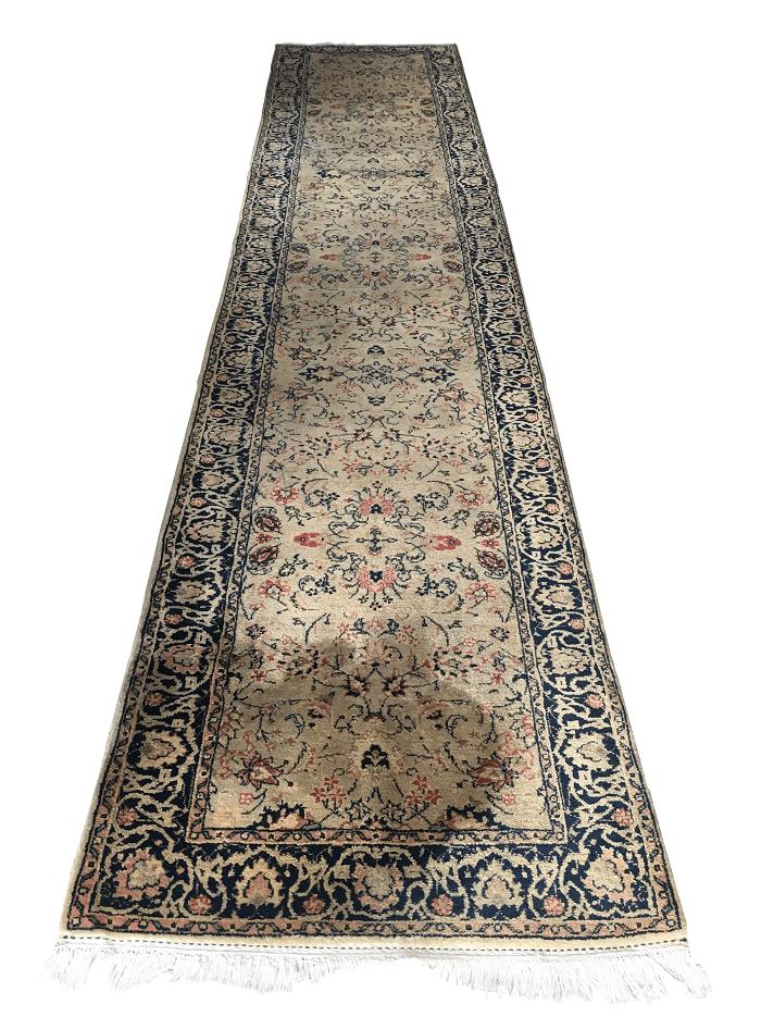 Tapete Persa Antigo Passadeira 440x88cm
