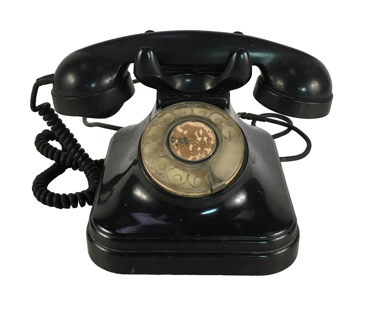 Telefone Antigo Baquelite Standard Eletric