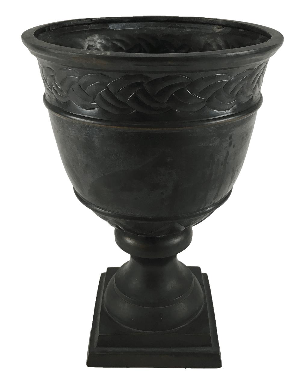 Vaso Antigo De Metal 22cm