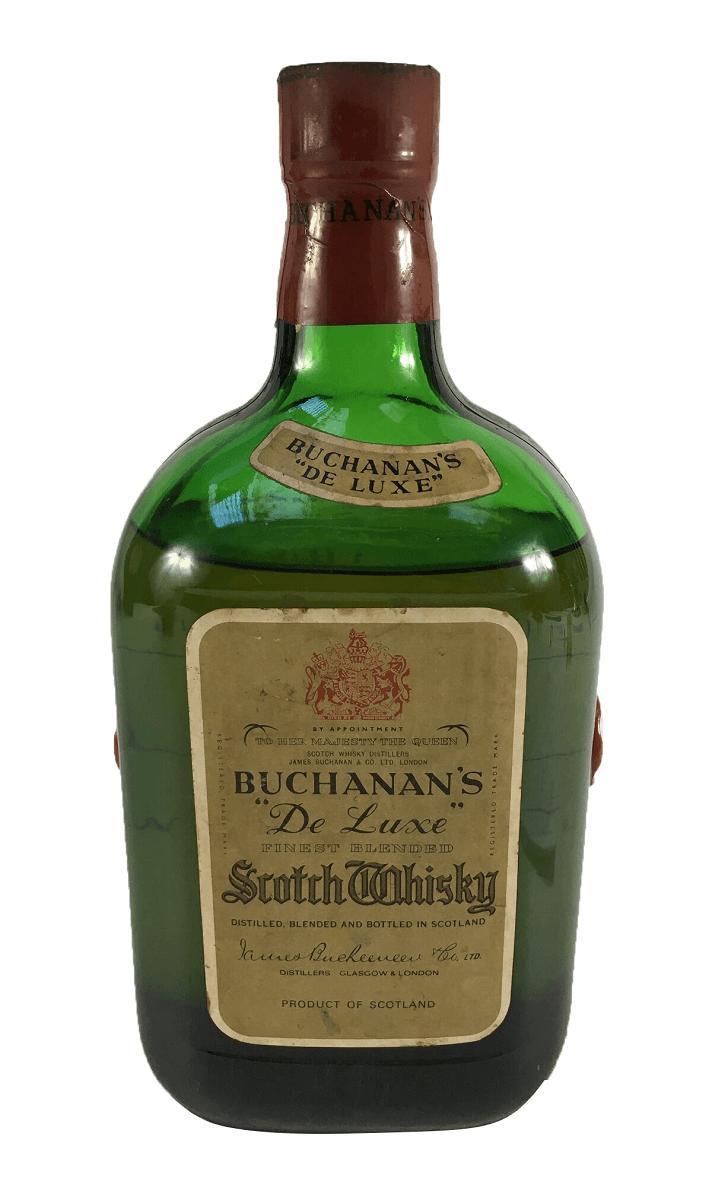 Whisky Antigo Buchanan's De Luxe Lacrado
