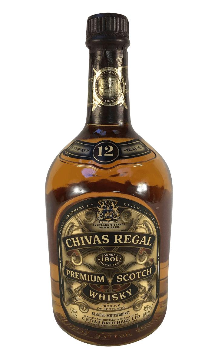 Whisky Antigo Chivas Lacrado 1 Litro
