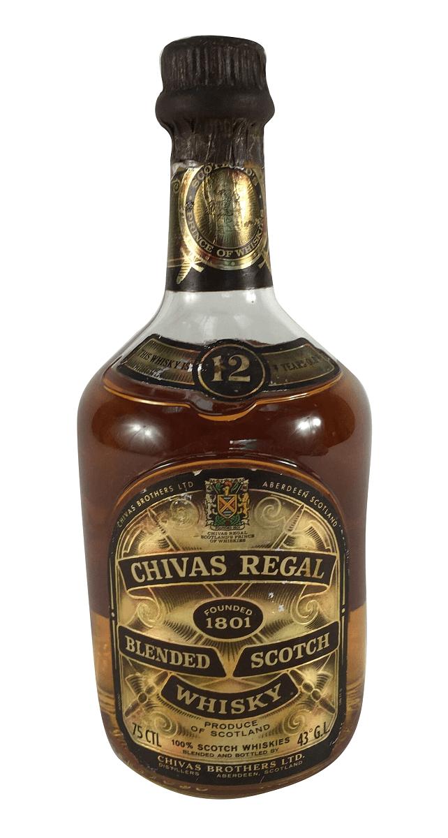 Whisky Antigo Chivas Lacrado 750ml