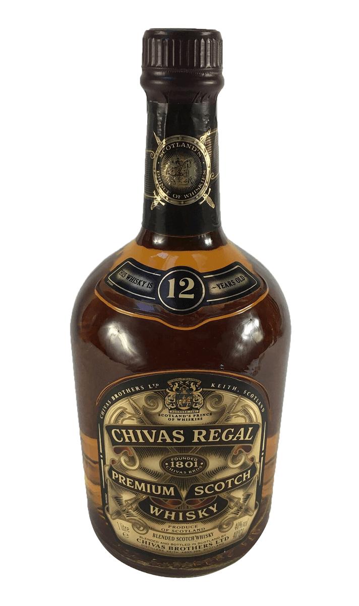 Whisky Antigo Chivas Lacrado Na Caixa 1 Litro