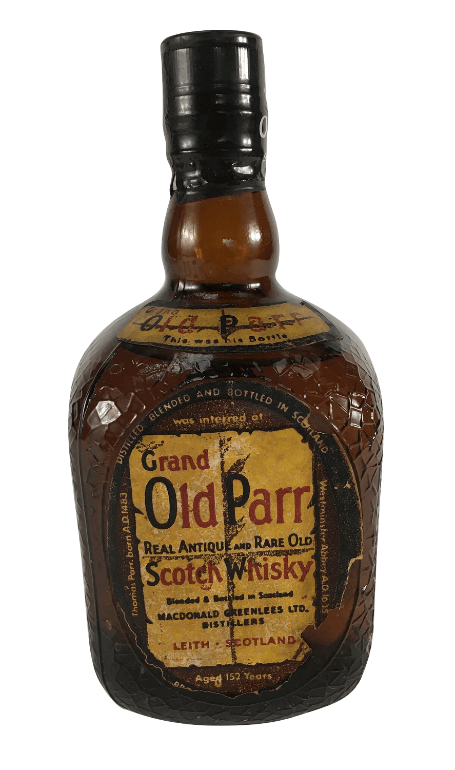 Whisky Antigo Grand Old Parr Lacrado