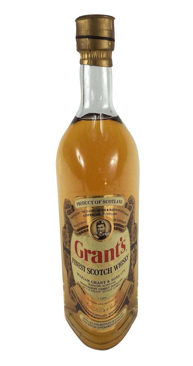 Whisky Antigo Grant's 1 Litro Lacrado
