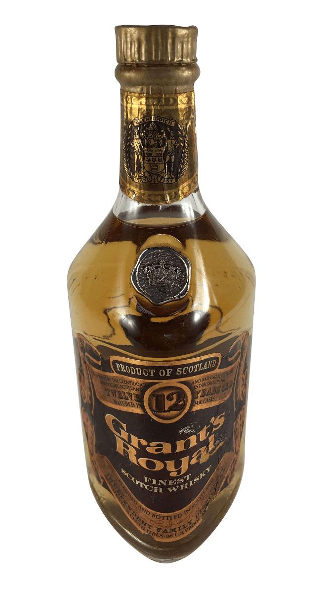 Whisky Antigo Grant's Royal Lacrado