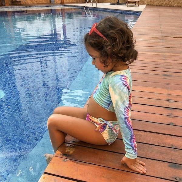 Biquini Infantil TIEDYE Cropped