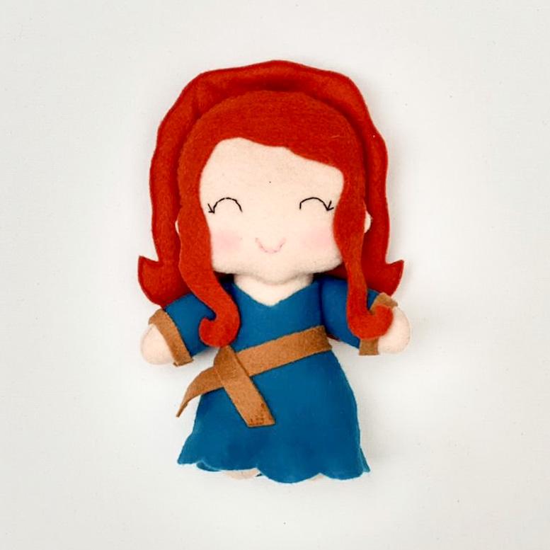 Boneca Princesa Corajosa
