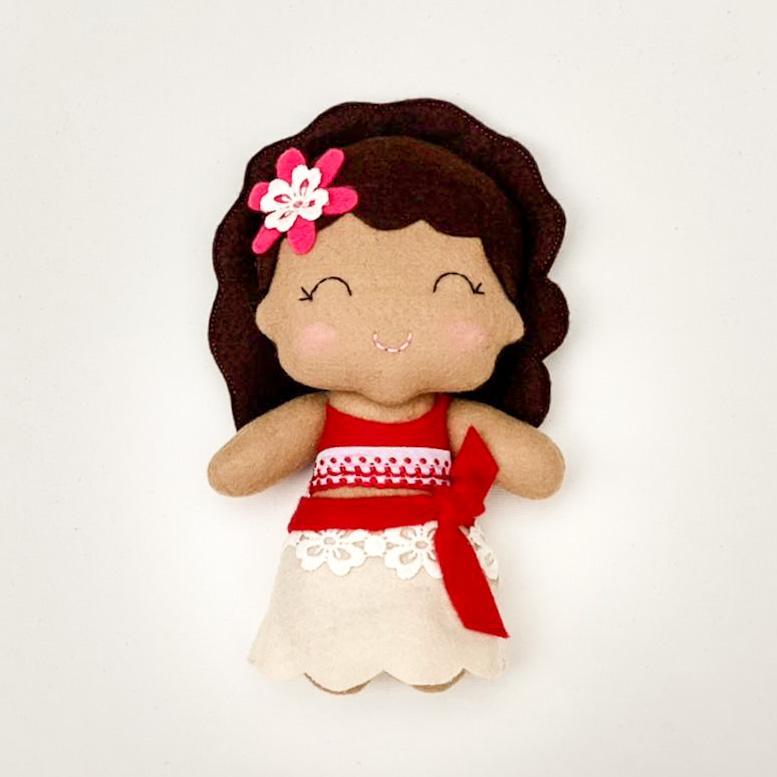 Boneca Princesa da Polinésia