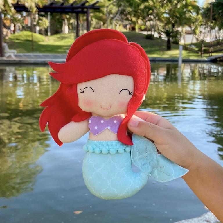 Boneca Princesa do Mar