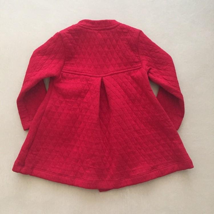 Casaco Vermelho em Moletim Matelassê
