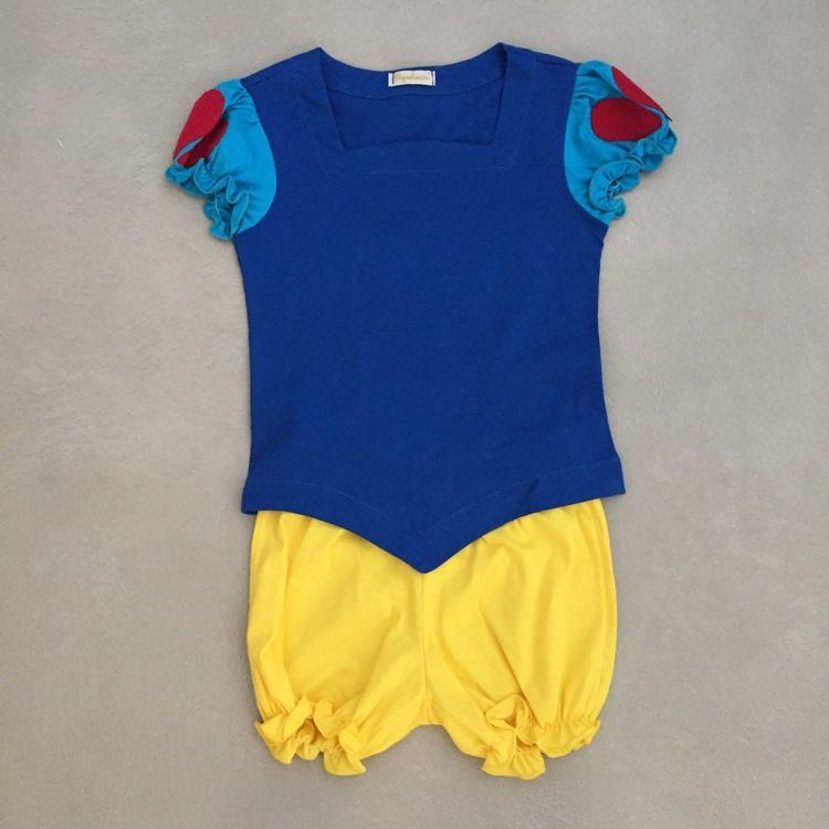 Conjunto Infantil com Blusa e Short Princesa Da Maçã