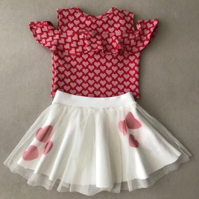 Conjunto Le Petit Kukiê Lovely Hearts