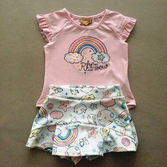 Conjunto Le Petit Kukiê Rainbow