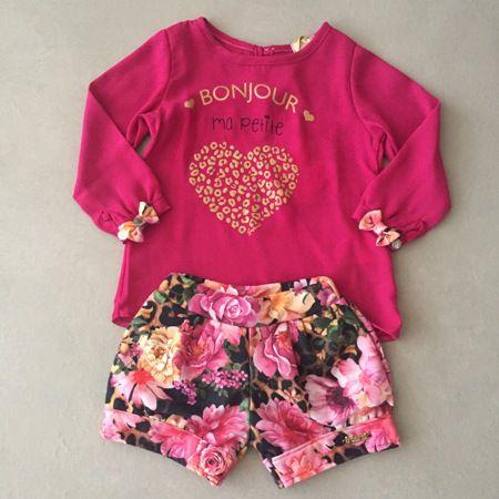 Conjunto Pink Bon Jour