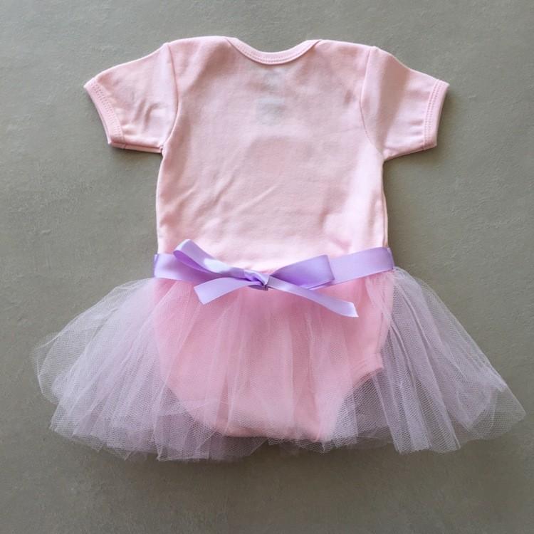 Fantasia Bebê Ursinha Rosa