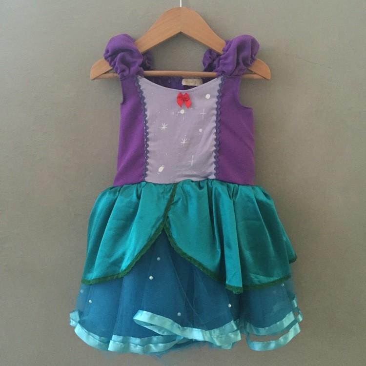 Fantasia Infantil Princesa Sereia