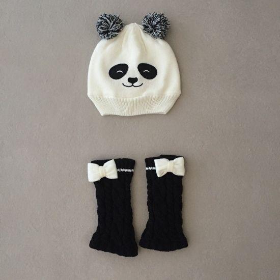 Gorro Ursinho Panda