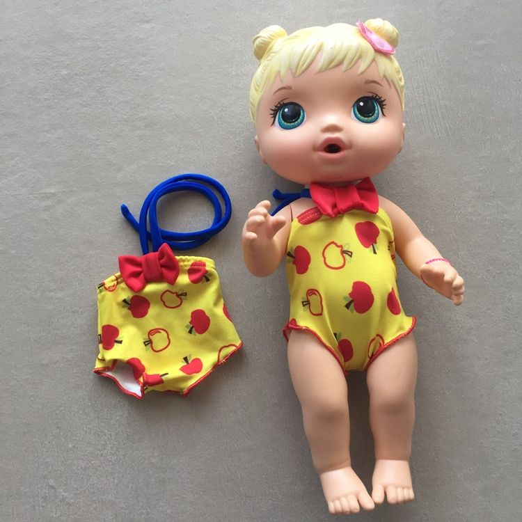Maiô Menina Da Maçã Para Boneca