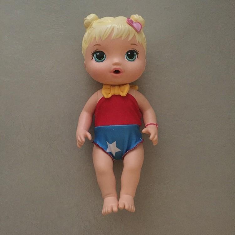 Maiô Menina Maravilha para Boneca