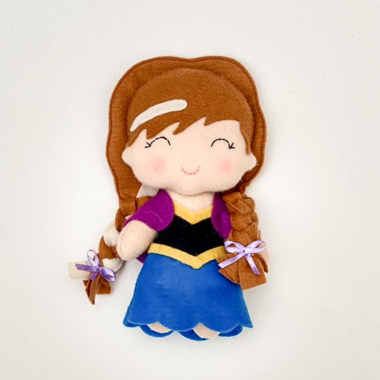 Boneca Princesa Anna