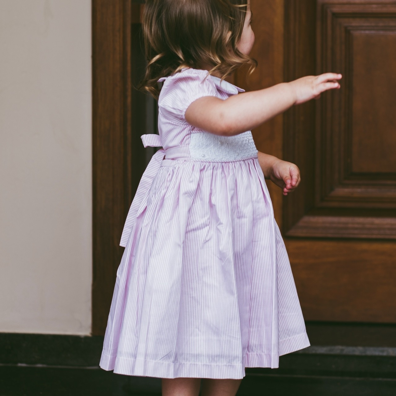 Vestido Casa de Abelha Rosa